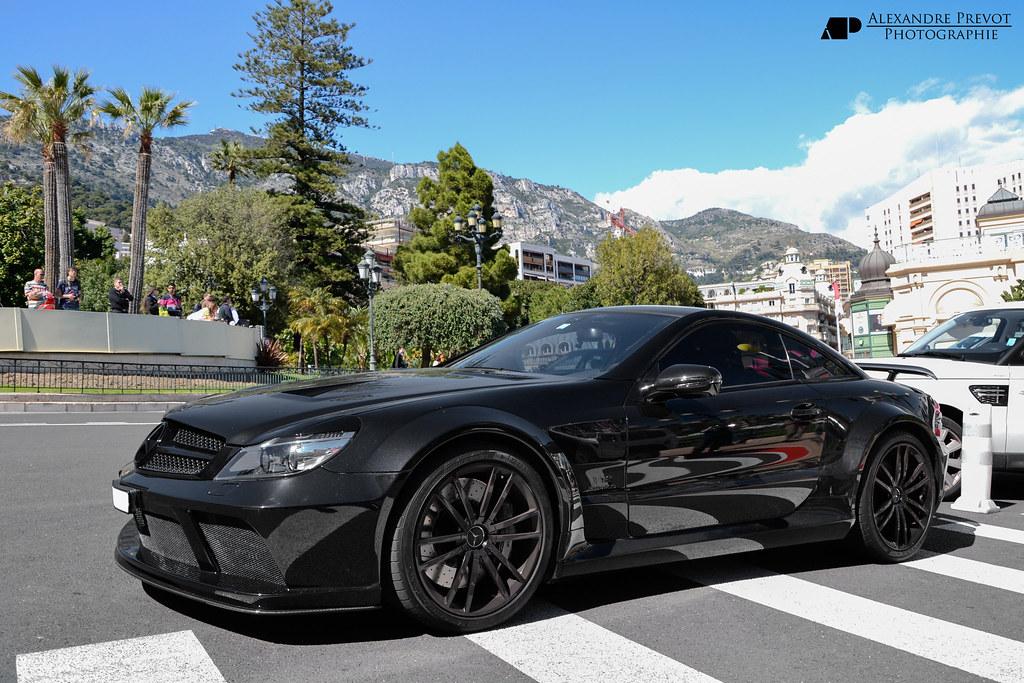 Mercedes Benz Sl65 Amg Black Series Www Grand Est Supercar