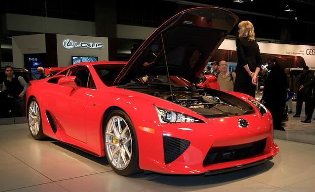 2013 Washington Auto Show - Lower Concourse - Lexus 19