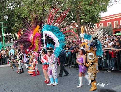 Carnaval Tlaxcala 2013 - San Francisco de Tlacuilohcan, municipio de Yauhquemehcan, Tlaxcala - México