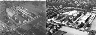 Heilbronn - Badenerhof Kaserne from Air