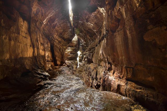 Devil's Cave, Big South Fork NRRA, Scott Co, TN