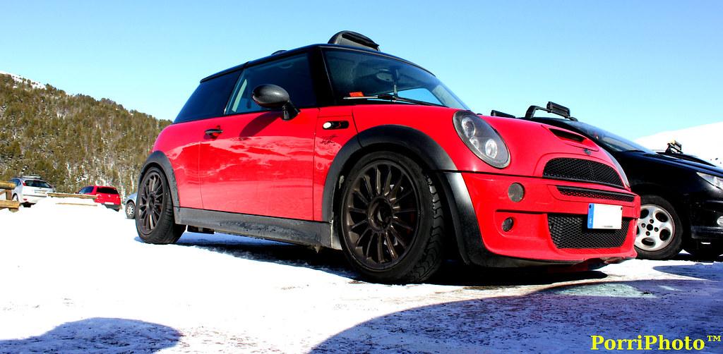 Sergis Mini Cooper S R53 Nice Mini On Snow Porrivb Flickr