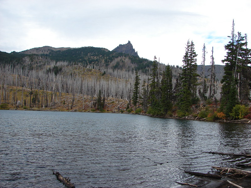 Three Fingered Jack from Booth Lake
