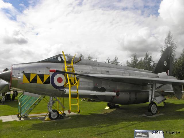 English Electric Lightning at Donington AeroPark