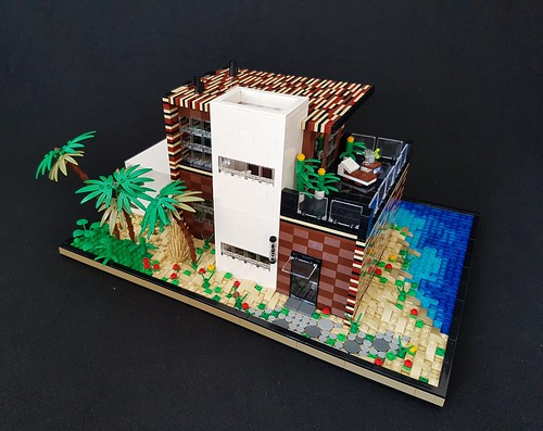 Coral House MOC IV | by betweenbrickwalls