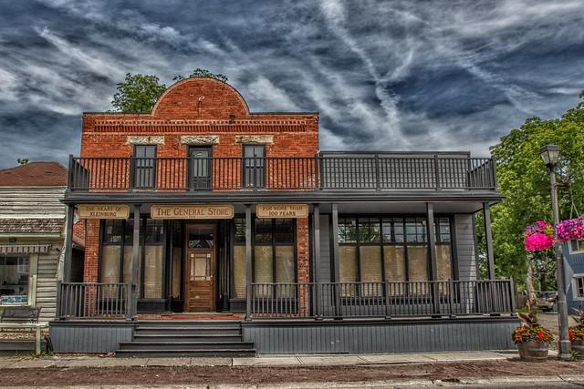 Kleinburg Ontario - Canada -- Klienburg General Store and Post Office - 1901 - Heritage Building