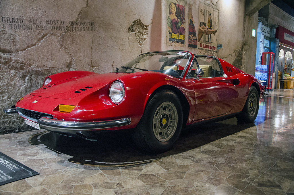 1973 Ferrari Dino 246 Gts In My Opinion One Of The Most Be Flickr