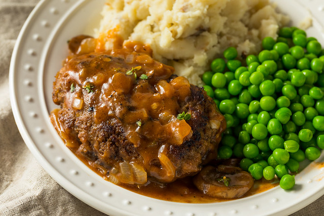 Homemade Savory Salisbury Steaks