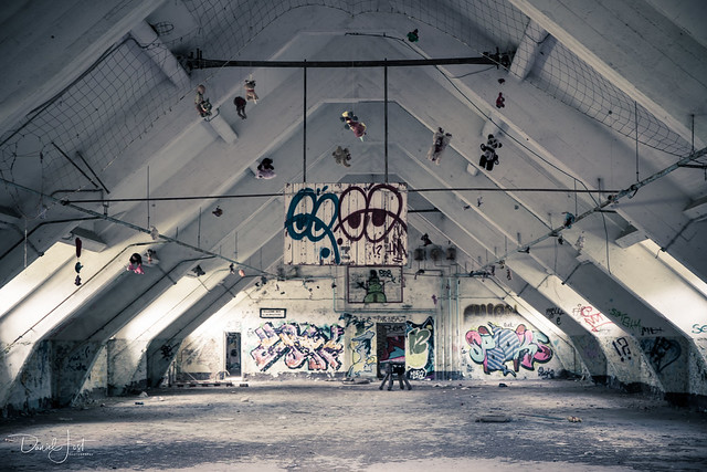 Abandoned Soviet Military Base in Bernau
