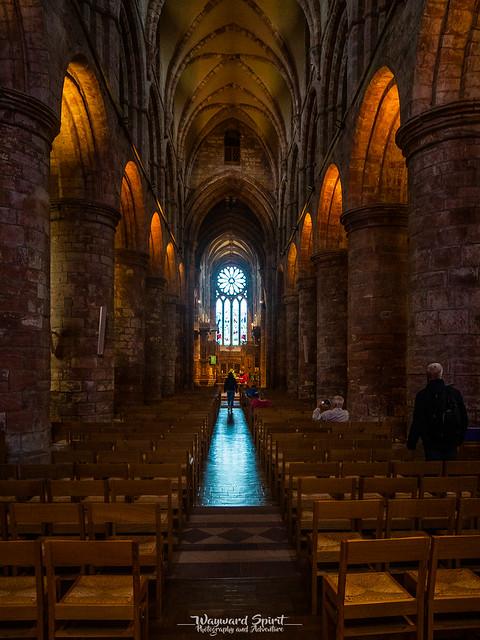Inside St. Magnus' Cathedral