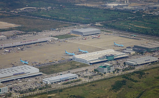 Aerial view of the airport | by phuong.sg@gmail.com