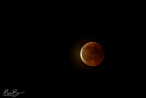 Lunar Eclipse 27-07-2018 / 01 | by Marc Bezembinder