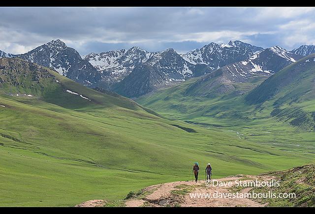 Trekking the superb alpine Keskenkija Trek, Jyrgalan, Kygyzstan
