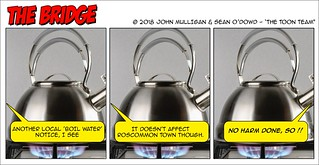 The Toon Team - Boil Water Notice   by Real Group Photos