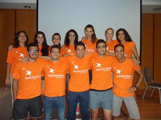 Save the Dream athletes in Spain, Tarragona
