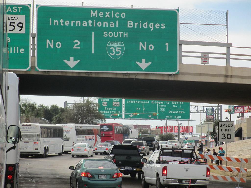 International Bridge # 2 Laredo Texas | Zima Real Charter Bu