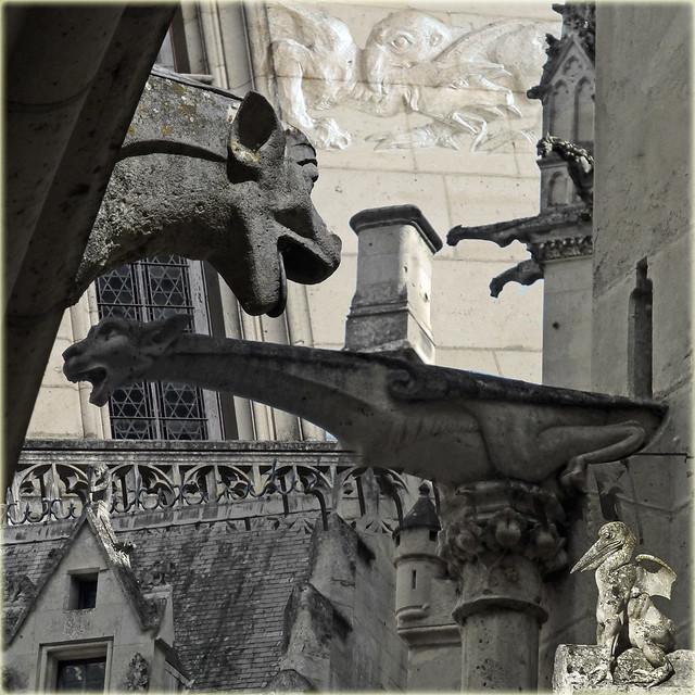 Grotesques and gargoyles