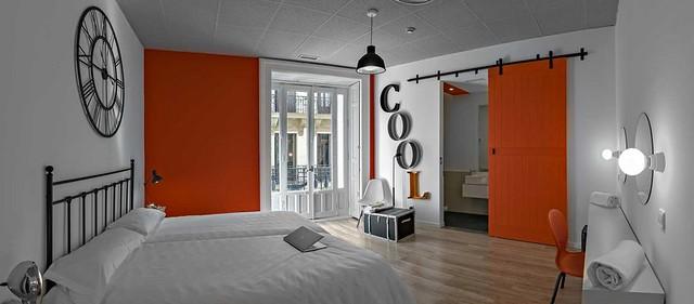 Habitación doble en un hotel