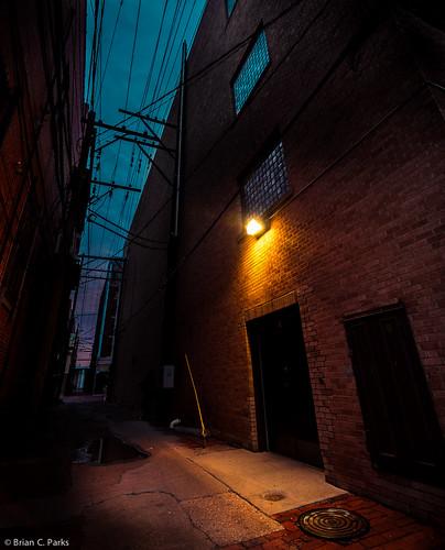 urban sunrise alley nikon downtown shadows streetphotography highlights alleyway drama hdr lubbock lightroom d600 fauxhdr lubbockphotowalk
