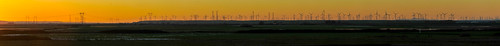 california sunset panorama orange color northerncalifornia nikon large panoramic bayarea february stitched sacramentocounty windpower turbines shermanisland 2013 d700 montezumahillsturbinefarms noverd