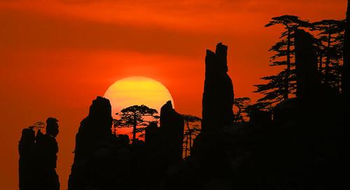 china sunrise mt huangshan