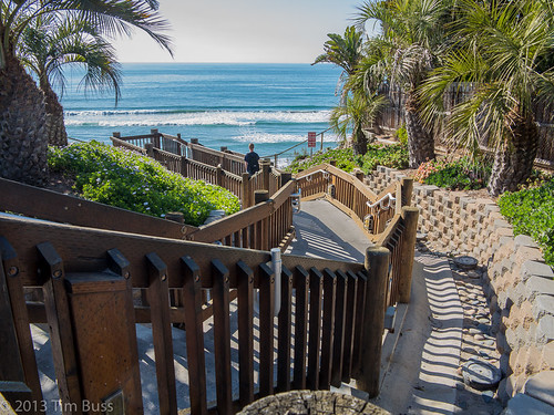 D Street beach access, Encinitas