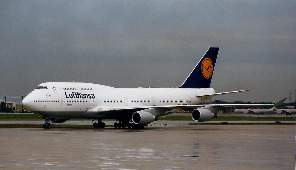 Boeing 747-400, Lufthansa, Chicago O'Hare | 03_11_25_ | Bill Abbott | Flickr