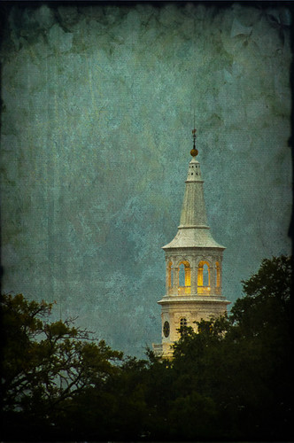 old morning blue trees light sky white storm color tree tower texture sc church yellow clouds sunrise print site downtown image sony south southcarolina scene historic steeple east spire charleston textures carolina ornate stmichaels revolutionary oldchurch oldbuilding tropicalstorm textured lowcountry ghostbones a55 kerstinfrank sonya55 tssandy ekarlbraun ekarlbraunphotography