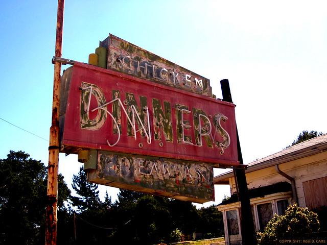 STREETCAR Diners - Front Sign - Buellton, CA. - Razed - EXPLORE