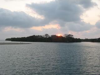 Sunrise in Placencia (Belize)