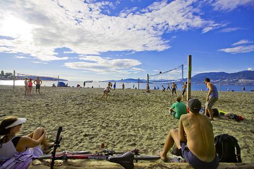 Kitsilano Beach   by GoToVan