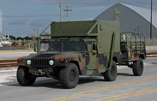 Marine Corps M1097A2 HMMWV with M101A3 Cargo Trailer   Flickr