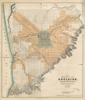 District of Adelaide, 1839. | by State Library of South Australia