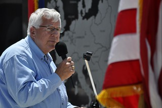 U.S. Sen. Mike Enzi | by TJ Barker