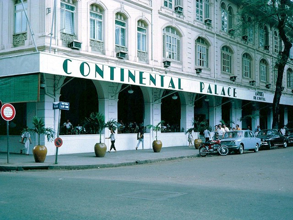 Saigon 1967 - The Continental Palace Hotel | This hotel is v… | Flickr