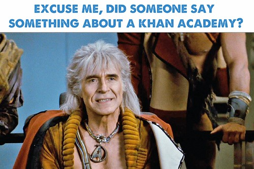 Khan Academy in Space