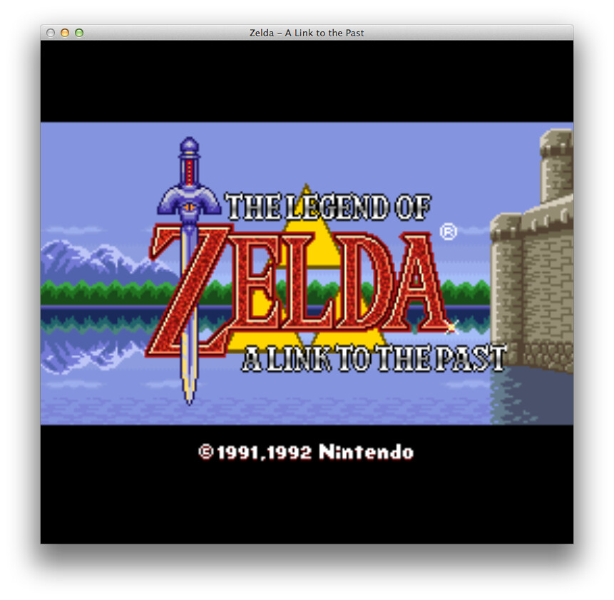 a link to the past emulator