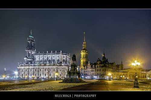Dresden by Night - Hofkirche | by MLechuga Photography