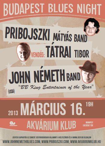 2013. március 12. 12:12 - Budapest Blues Night