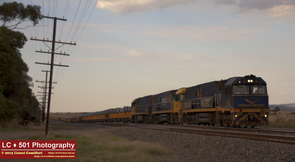 Steel Train with IP by LC501
