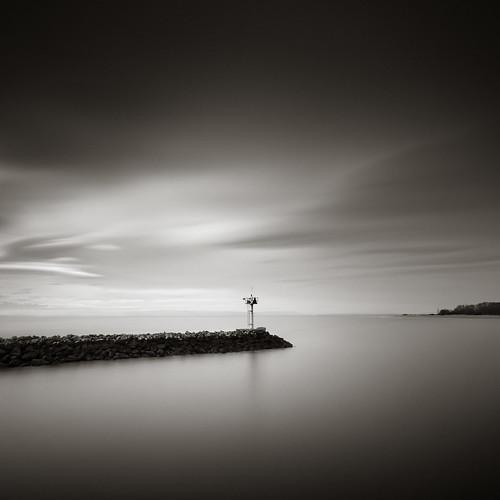 seattle longexposure bw jetty goldengardens shilsholebay nd110