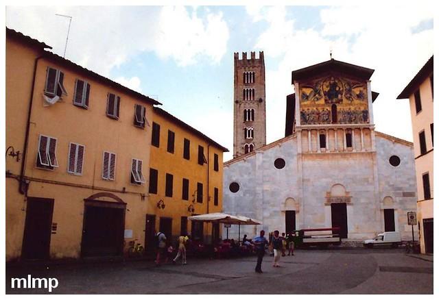 L'église San Frediano à Lucques