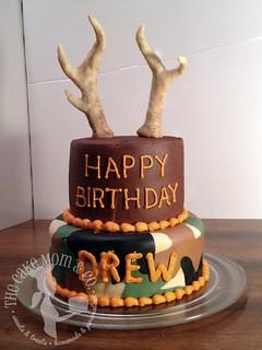 Brilliant Deer Hunting Birthday Cake Deer Hunting Birthday Cake Flickr Personalised Birthday Cards Sponlily Jamesorg