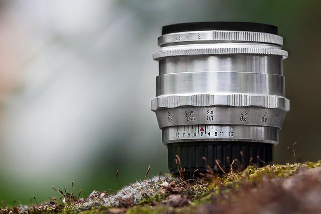 Carl Zeiss Jena Biotar 58mm ƒ/2 preset 1Q (V 3 from 1958 with 10 blades)