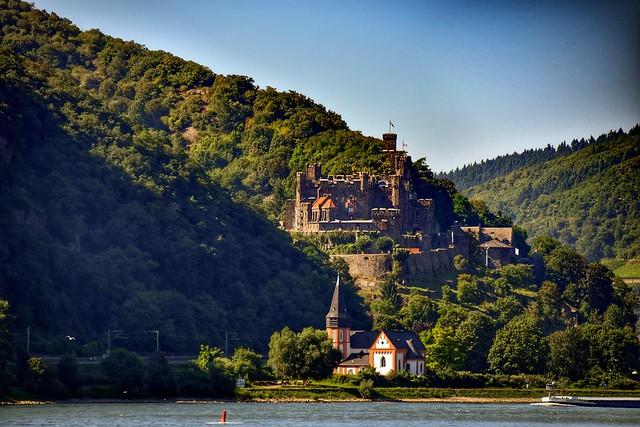 Travelling across Rhein
