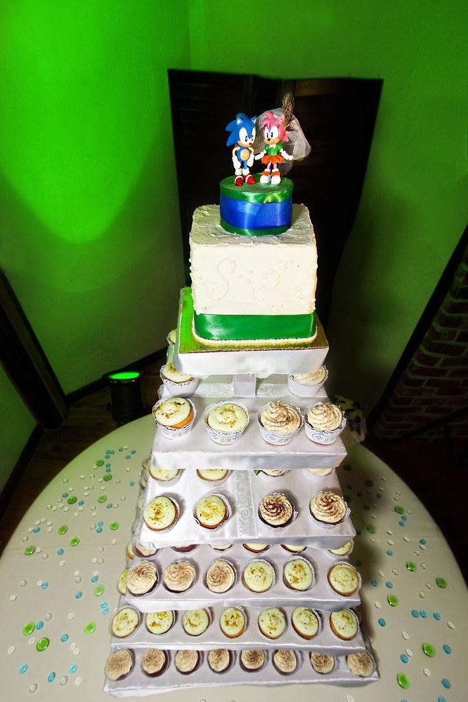 Sonic The Hedgehog Cake Topper Julio Rangel Flickr