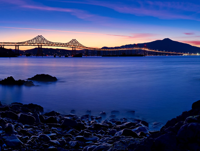 Richmond Bridge Blue Hour (Explore #28)
