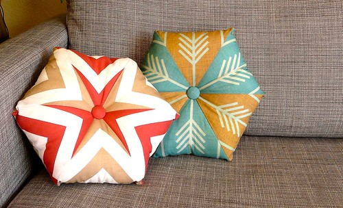 Kaleidoscope Pillows | by CraftyPod