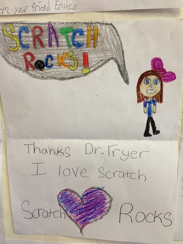 Scratch Thank You Note | by Wesley Fryer