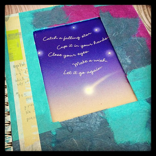 The quasi finished product... #journal #crafty #craftaholics #instagramers #instagramhub #igers #igdaily #dreamjournal | by {Perez Liscano Photography} (Nadia Marie)